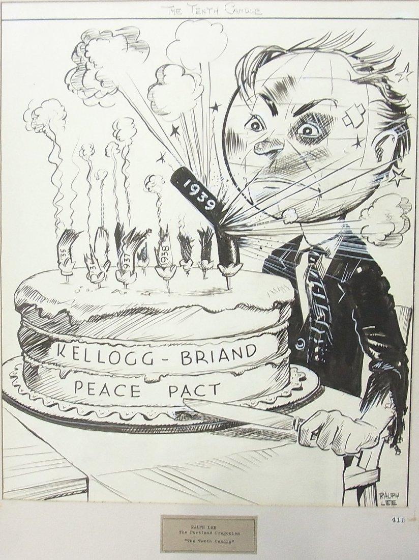 12: 1940 Ralph Lee Portland Oregonian WWII Kellogg Bria