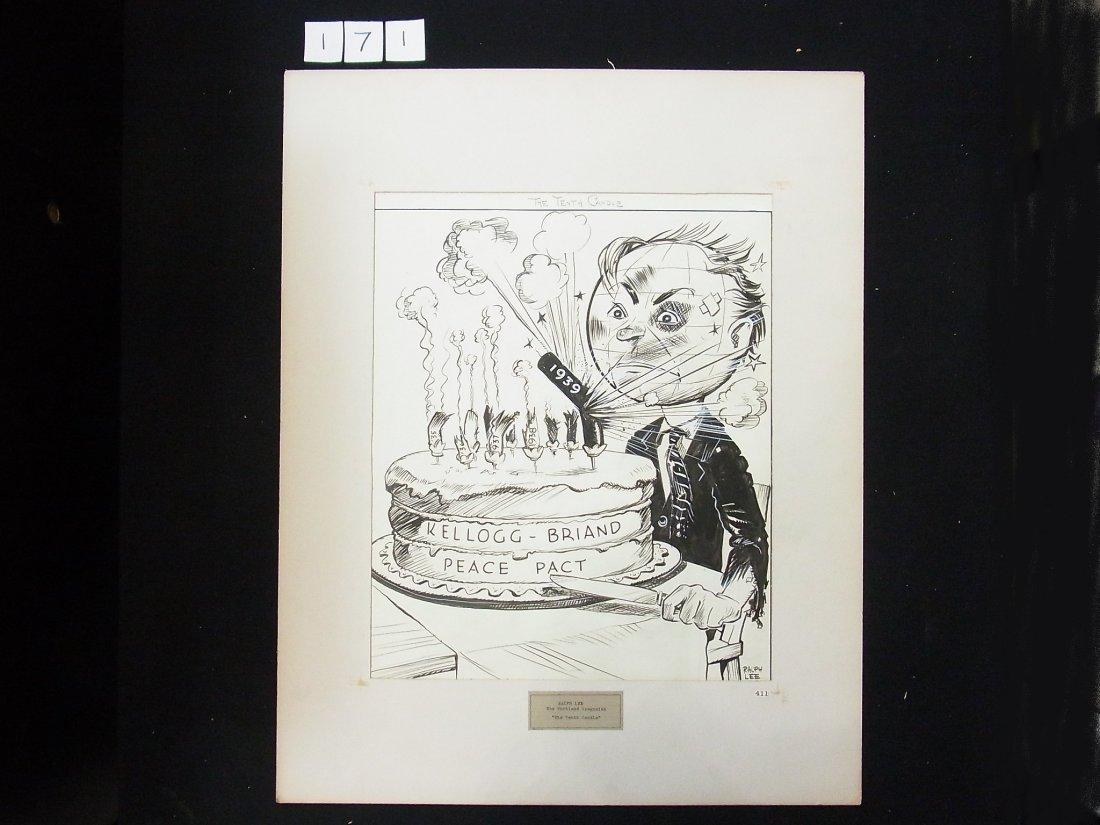 12: 1940 Ralph Lee Portland Oregonian WWII Kellogg Bria - 2