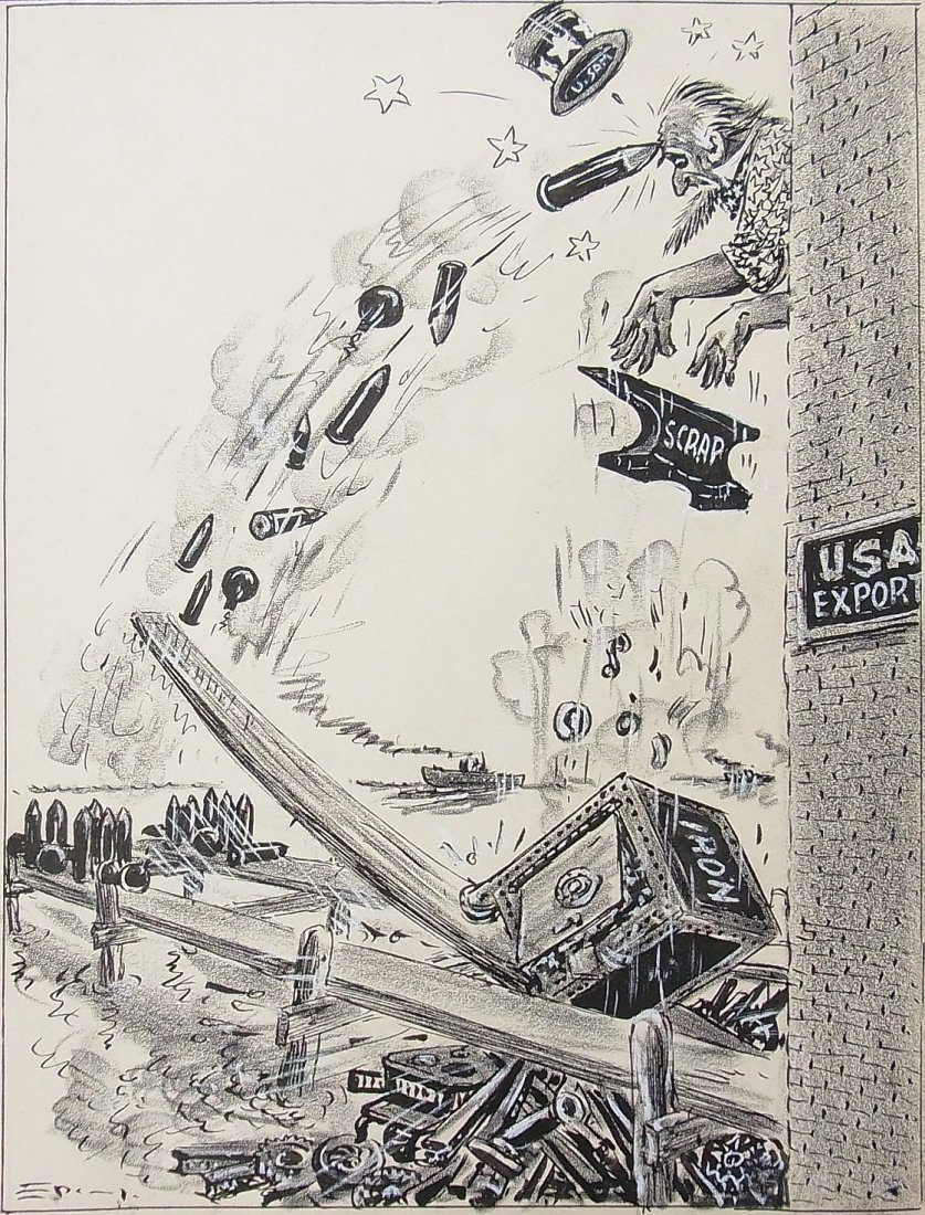 13: Frank Spangler Uncle Sam Scrap Iron Consequences US
