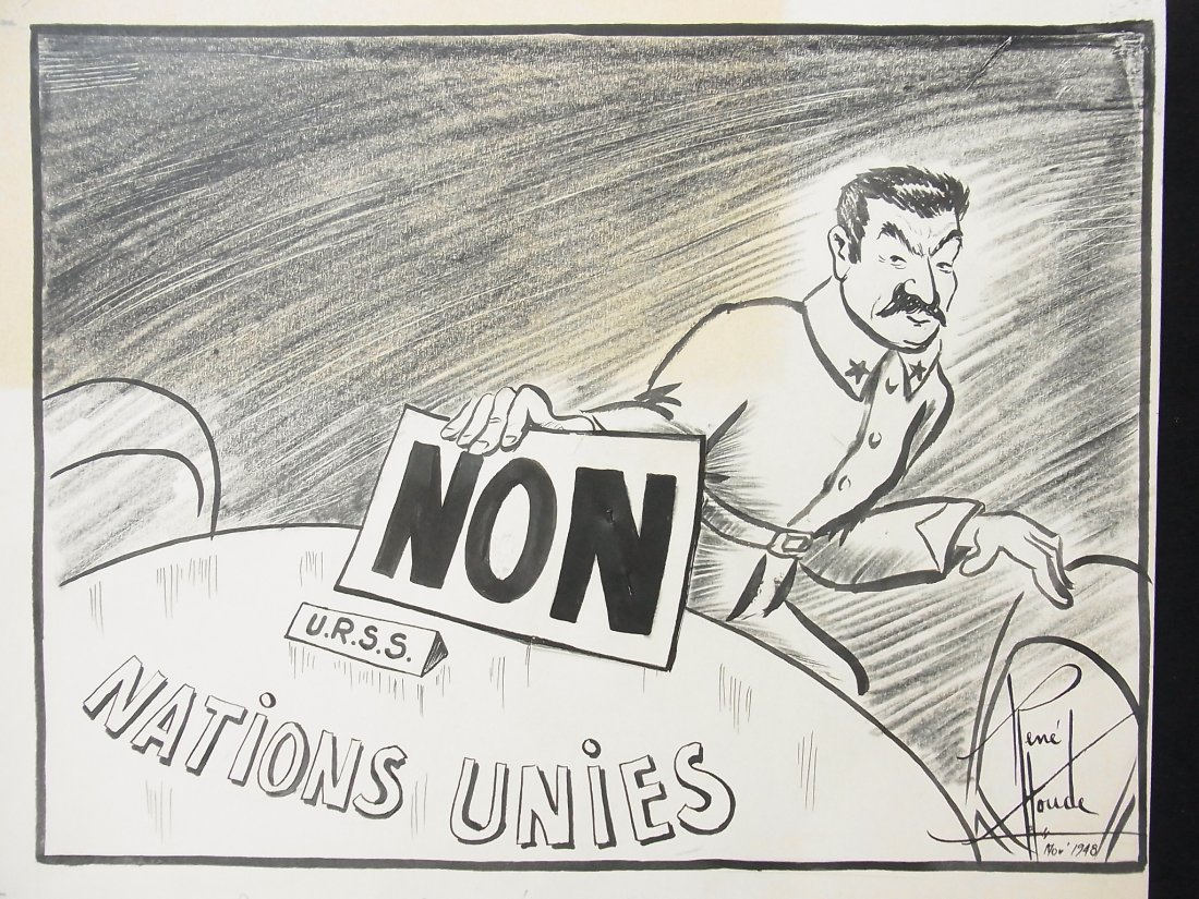 16: Rene Houde 1948 Stalin Objects to the URSS Canadian