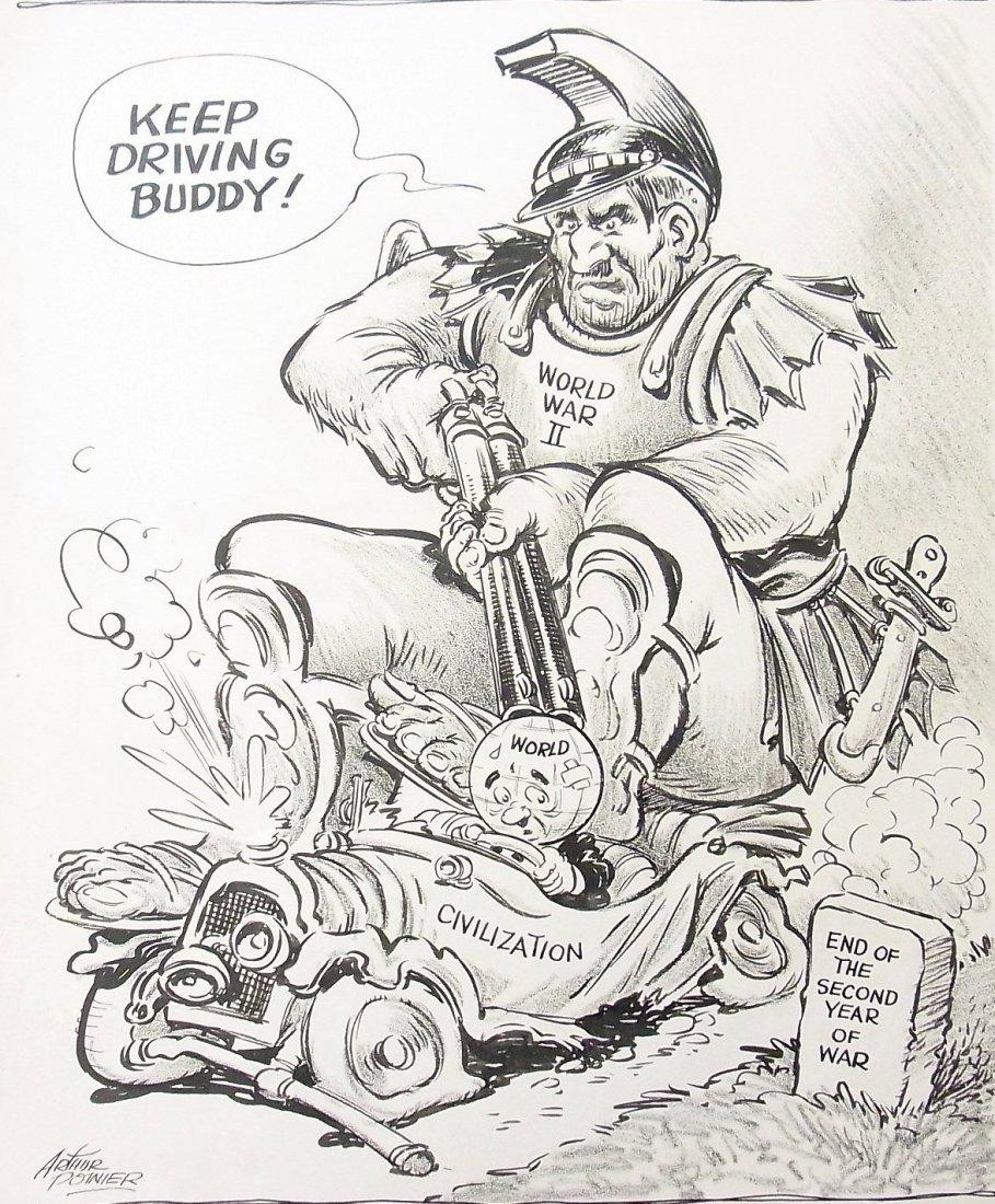17: Arthur Poinier Back Seat Driver WWII Dooms Civiliza