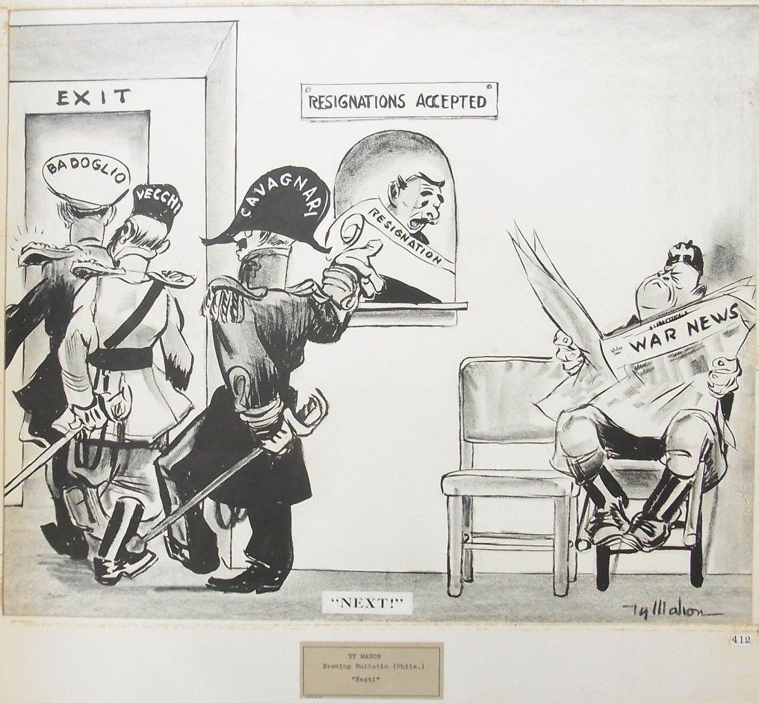 24: Ty Mahon 1940 Philadelphia Evening Bulletin El Duce