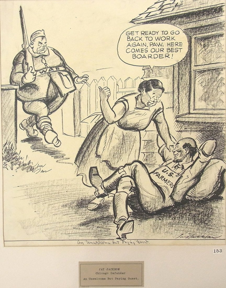 "26: Jay Paul Jackson Chicago Defender ""Negro"" Newspaper"