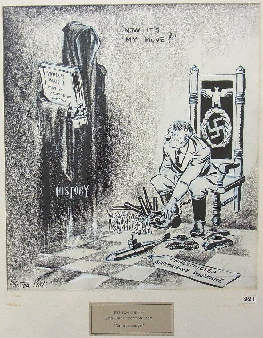 28: Newton Pratt Sacramento Bee Hitler Countermove Hitl