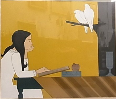 9: Will Barnet Introspection Large Signed Lithograph AA