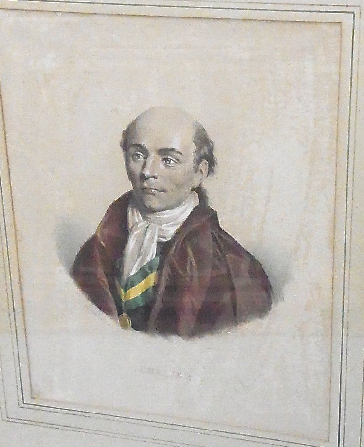 20: French 19th century Hand Colored Lithograph after L