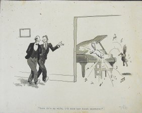 Jay Graham Hunter 1931 Cats On The Piano Large Edit