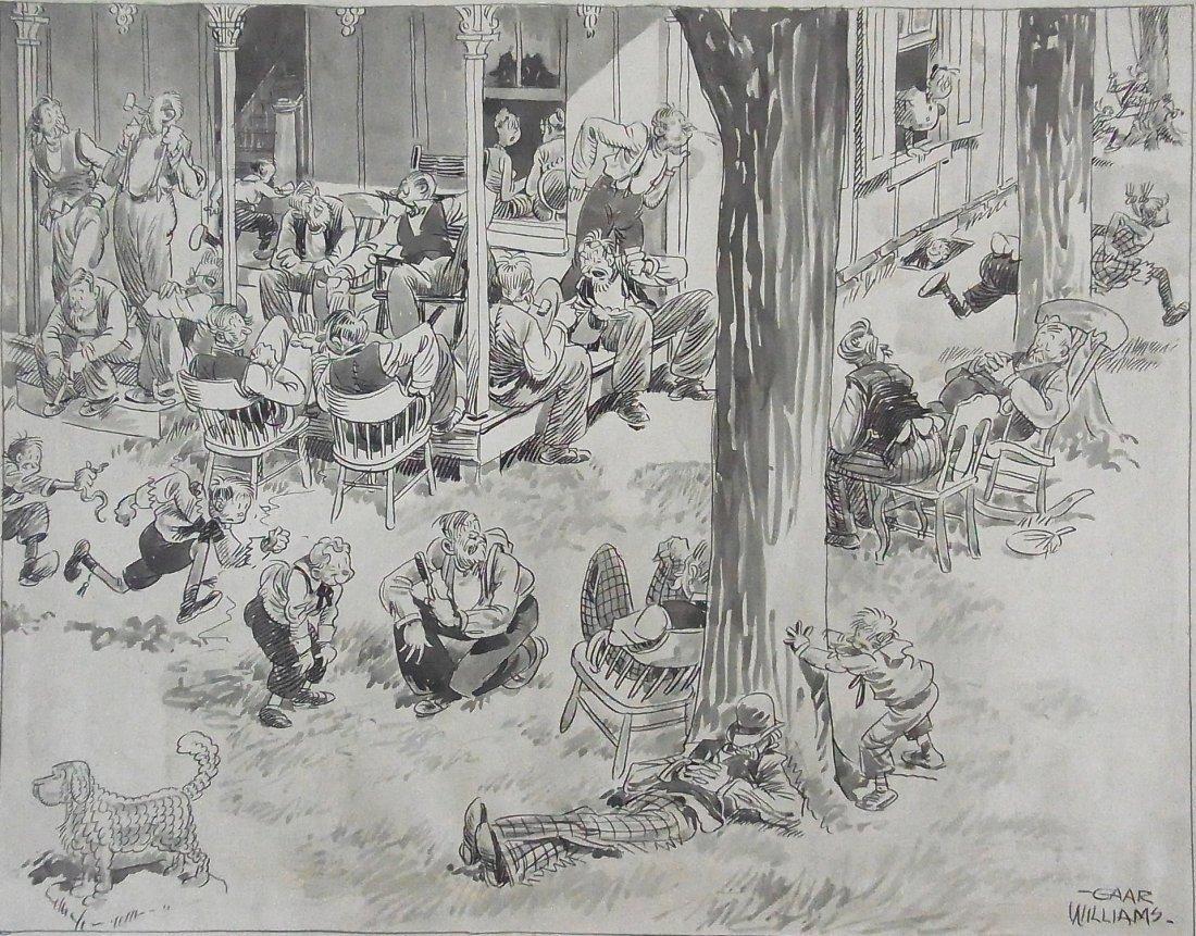 23: Gaar Williams Prominent Indiana Cartoonist Chicago
