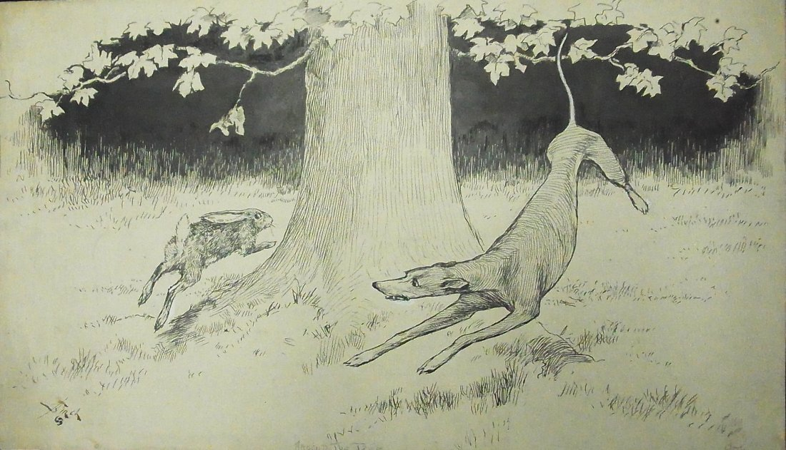 "19: Birch Reginald Bathurst ""Around the Tree"" Life Maga"
