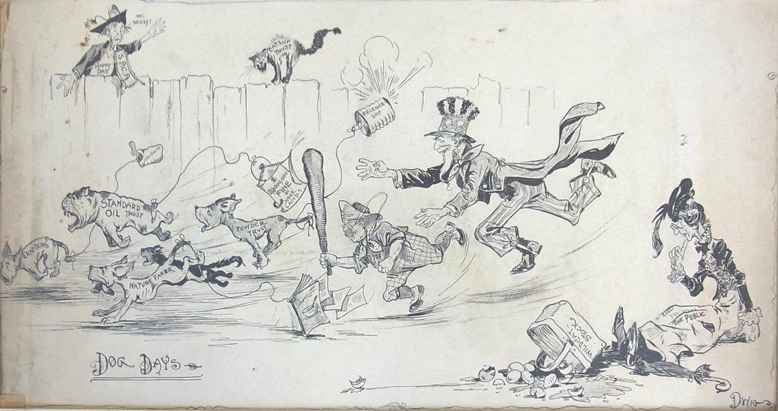 """17: Clare """"Dwig"""" Dwiggins DOG DAYS 1907 Standard Oil Gr"""