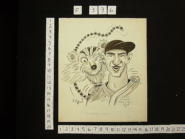 43: Floyd Sherman Nixon Baseball Detroit Tigers Paws Ly - 2