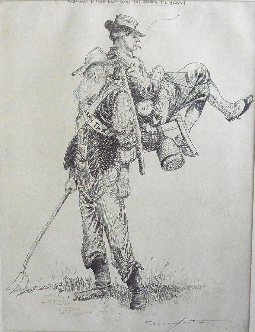 21: Homer Calvin Davenport (1867 –1912) U. S. Army Tax