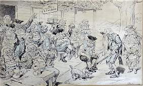 76: John Pughe Railroad Beef Trust Insurance Graft Puck