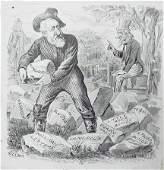 111: Bernard Gillam Puck Magazine New York 1884 a Watch