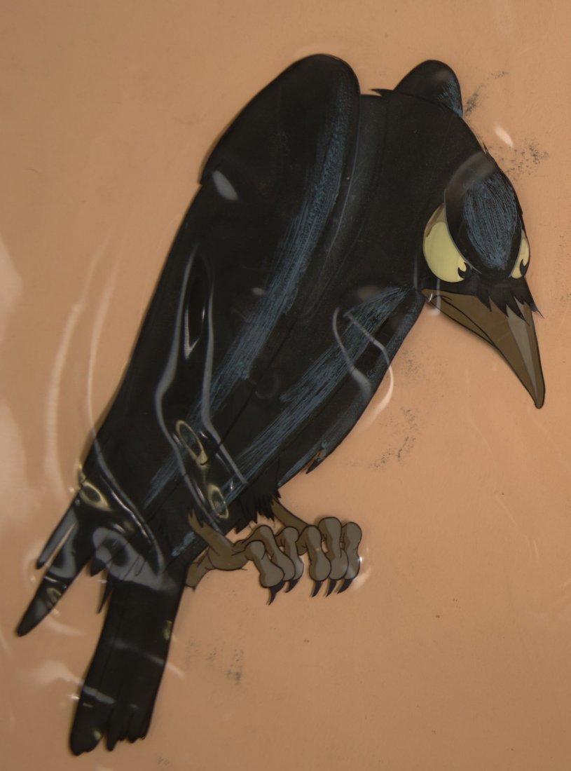 1: Snow White Queen's Raven Original Production Cel Art