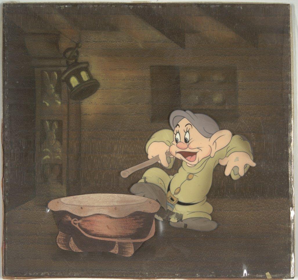 3: Snow White Dopey Walt Disney Productions 1937 Snow W