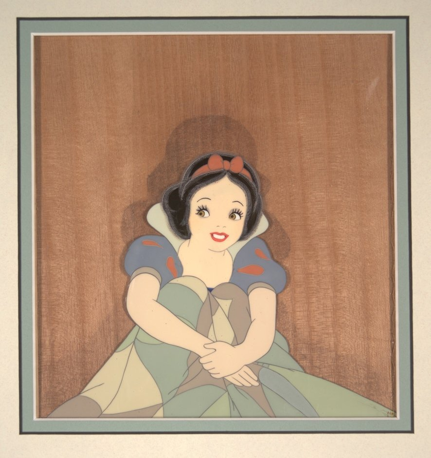 4: Snow White Sitting Up in Bed Walt Disney Productions