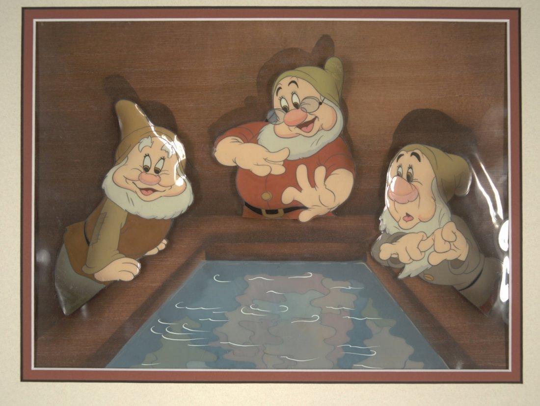 5:Snow White Sneezy, Happy, and Doc Walt Disney Product
