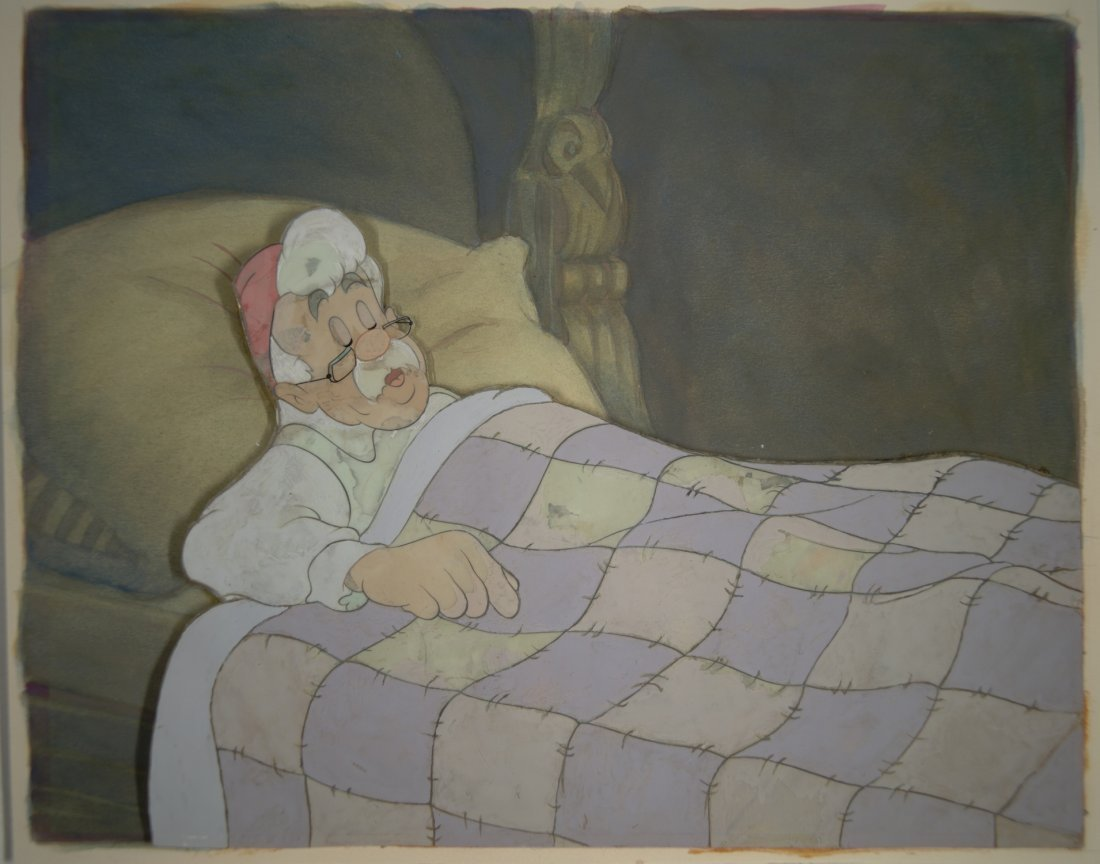 16: Pinocchio: Gepetto in Bed Walt Disney Productions 1