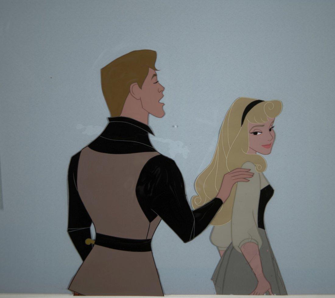 46: Sleeping Beauty Prince Philip and Briar Rose Walt D