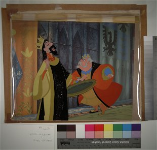 Production Cel Animation USF Mahan Coll DAY 2 Prices - 139
