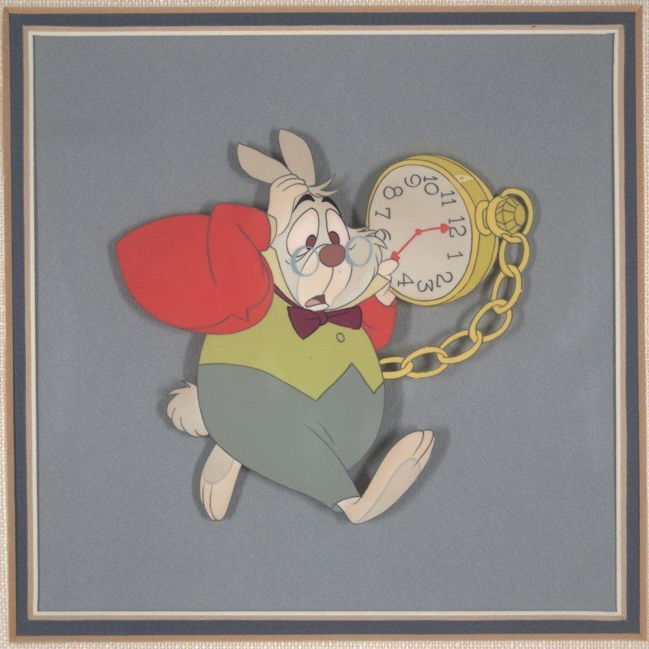 20: Alice in Wonderland: The White Rabbit Walt Disney P