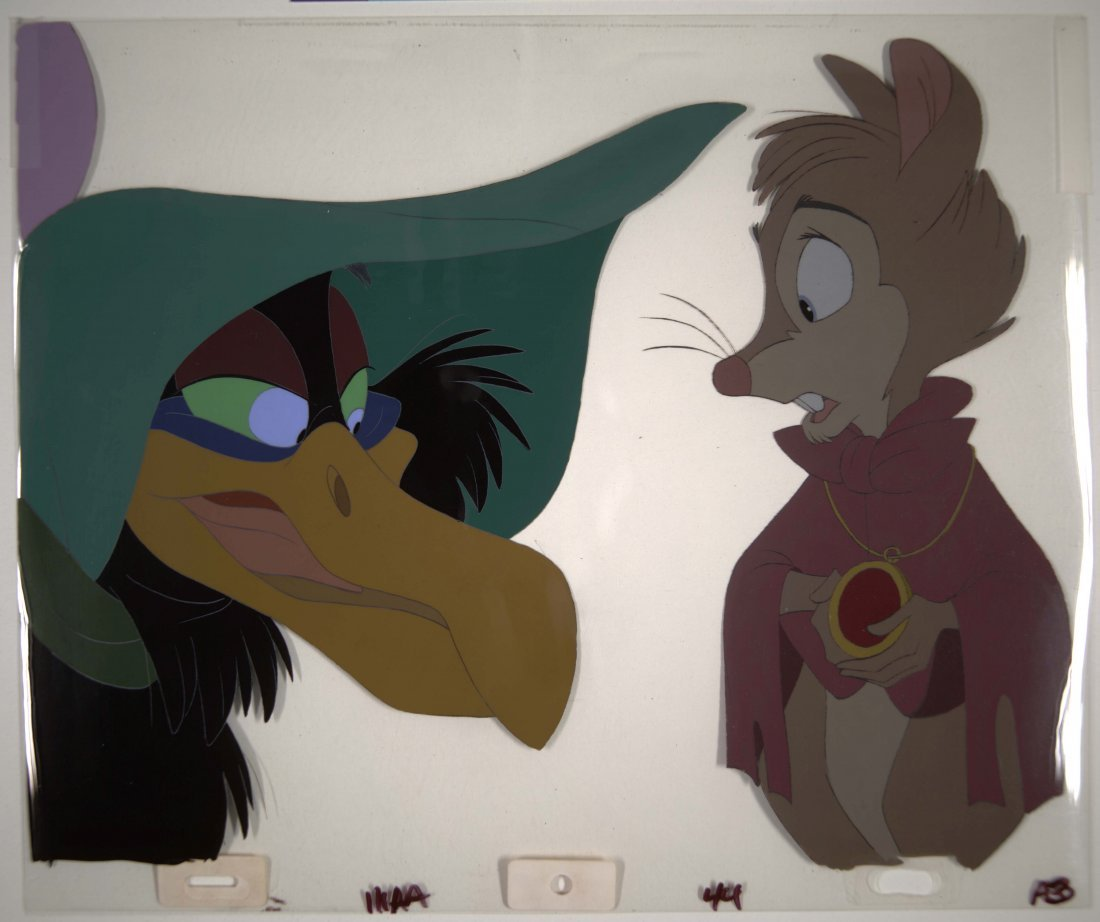21: The Secret of N.I.M.H.: Jeremy Crow and Mrs. Brisby