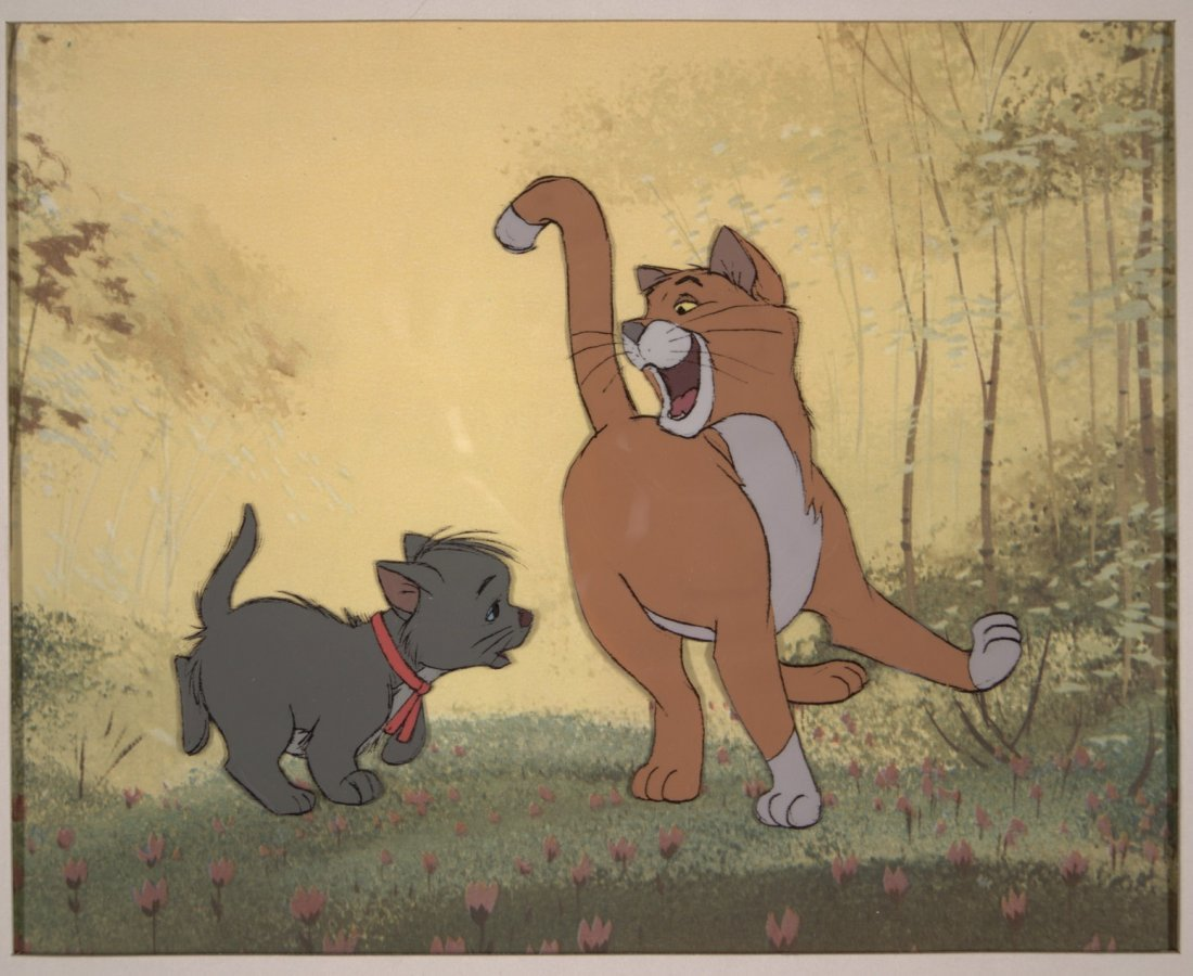 The Aristocats: O'Malley and Berlioz Walt Disney Produc