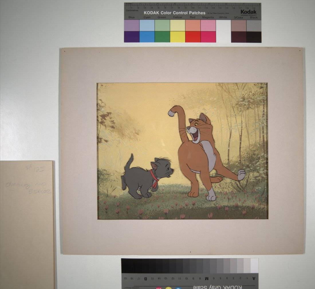 The Aristocats: O'Malley and Berlioz Walt Disney Produc - 3