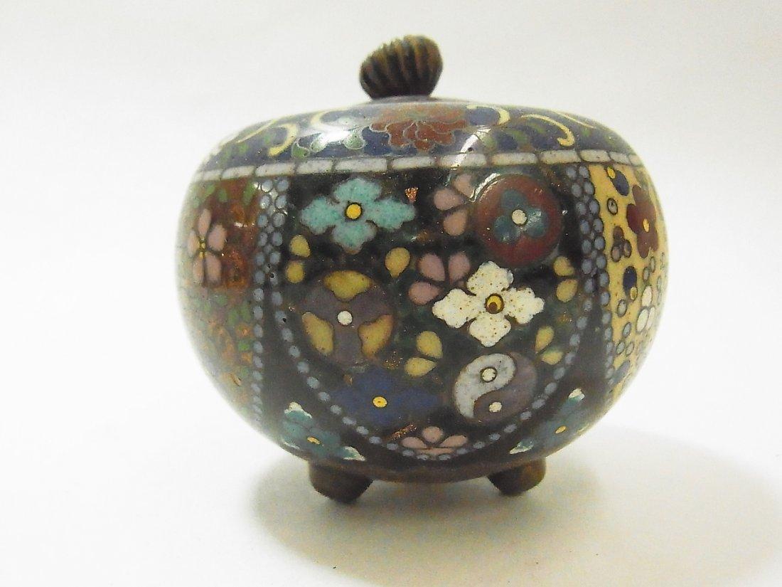 15: Antique Cloisonné Miniature Box