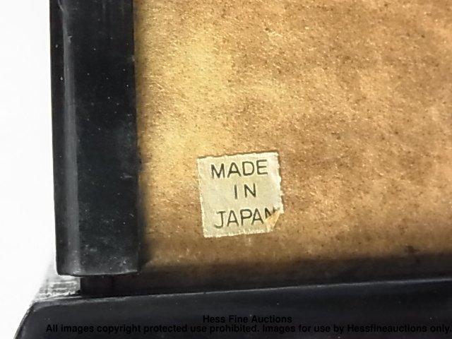 67: Japanese Porcelain Geisha Doll Signed Stamped Plaqu - 9