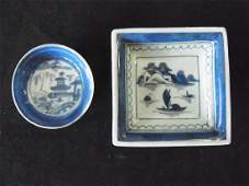 140: Two Miniature Pieces of Antique Canton Chinese Exp