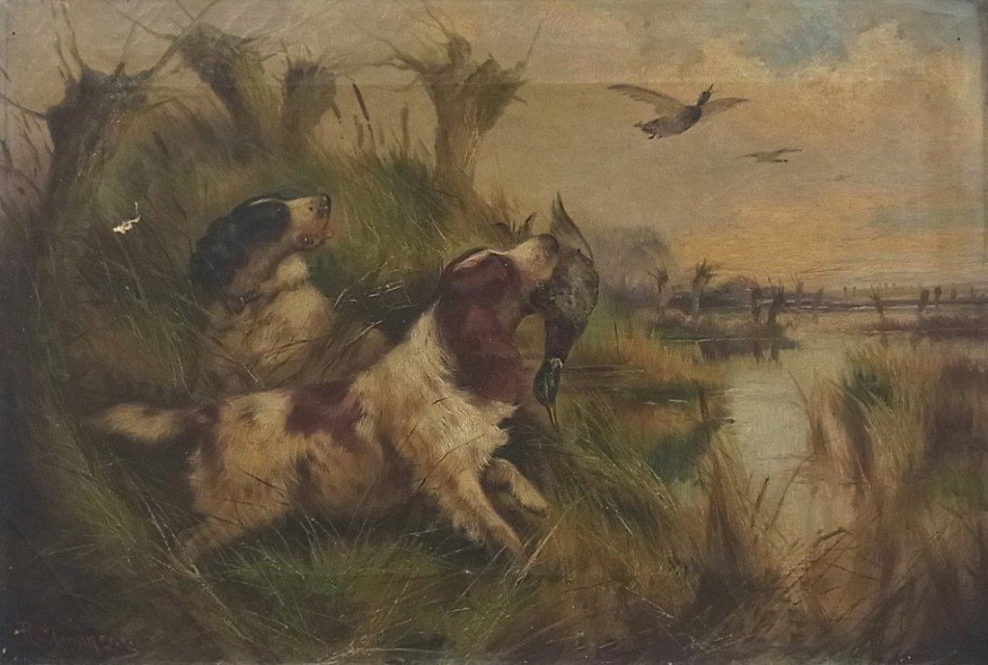 Robert Cleminson Sporting Painting Canine English Sette