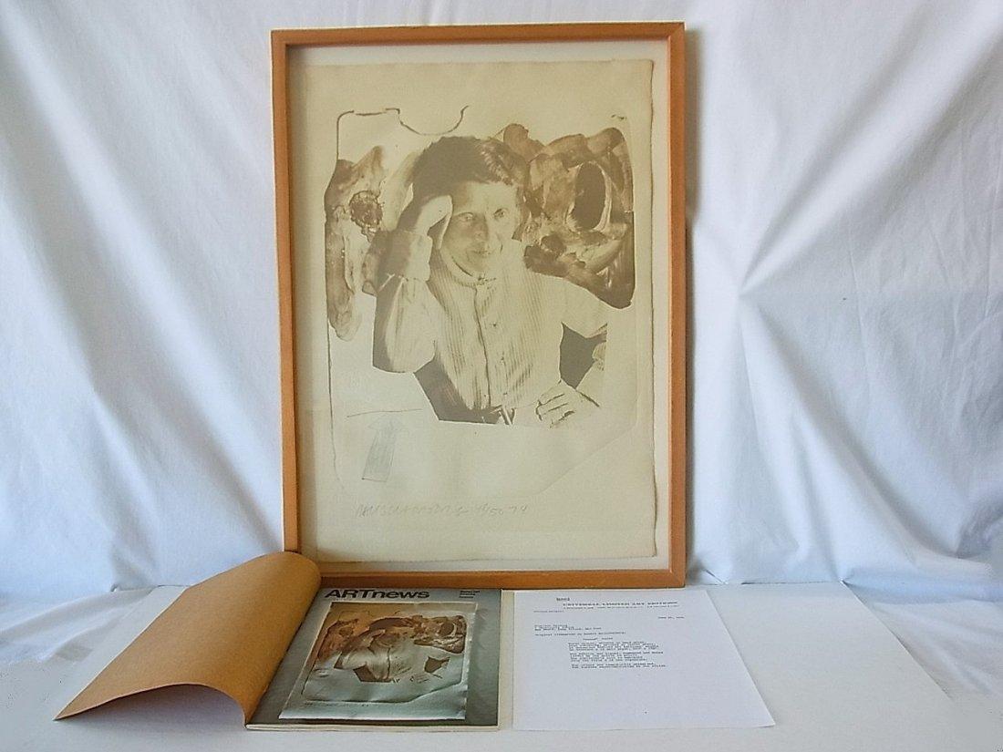 Robert Rauschenberg Tatyana Grosman Ltd Ed50 Lithograph