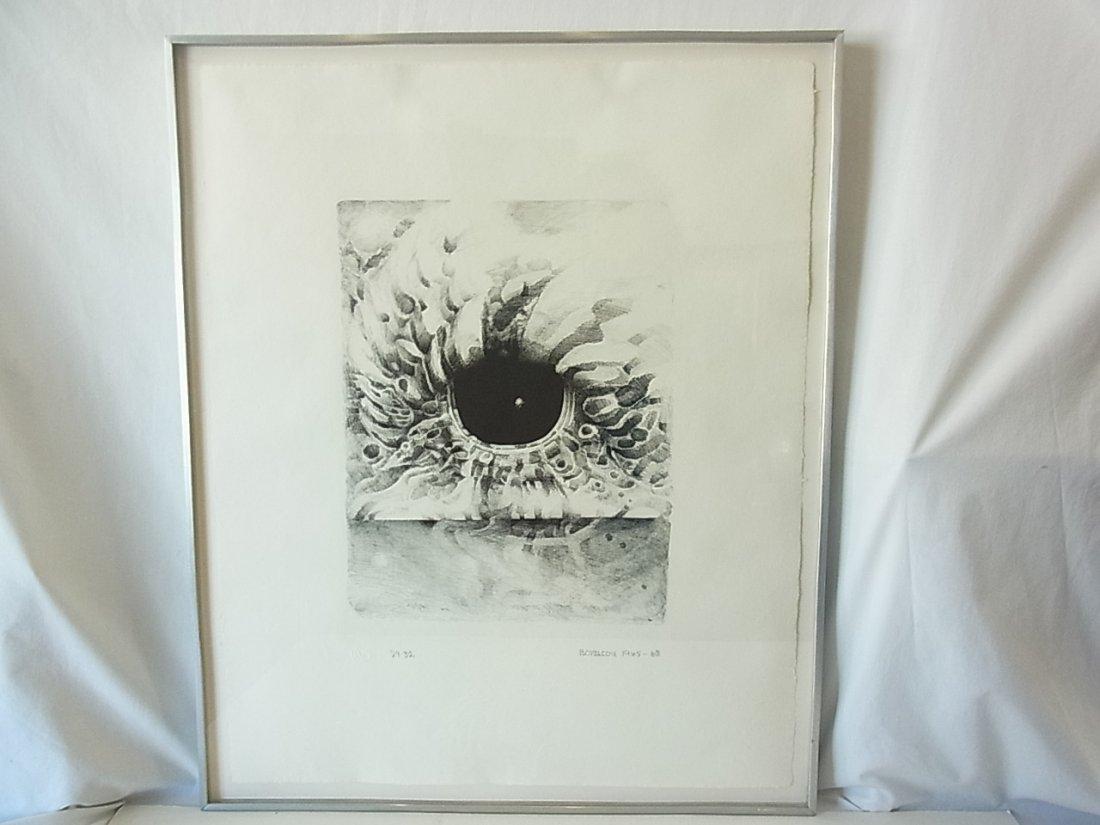 Lee Bontecou Ltd Ed32 EIGHT STONE Lithograph Print Publ