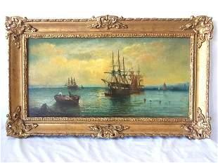 Royal Hibernian Academy artist William Alexander signed