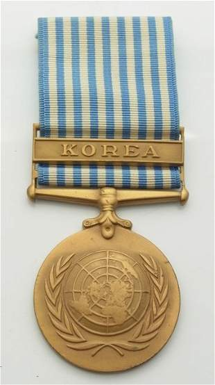 United Nations Korea Campaign Medal Military Decoration