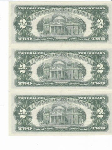330: 9 - 1963 Two Dollar Bill Red Notes - 4