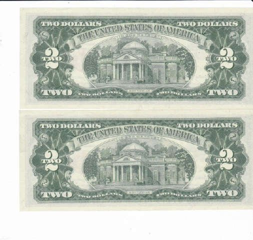 330: 9 - 1963 Two Dollar Bill Red Notes - 6