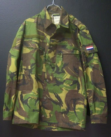 3: Dutch Camo Jacket Small