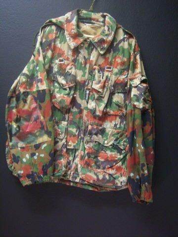 4: Swiss Camo Jacket Large, HEAVY