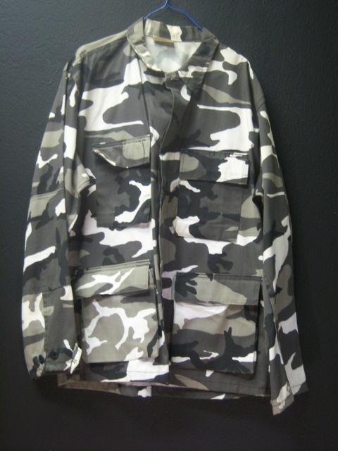 "5: Urban gray"" Camo Jacket Medium/Regular"""