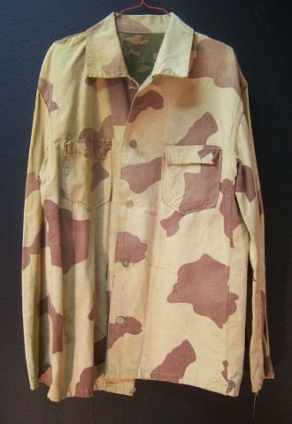 7: WW2 Pacific Theater Reversible Camo Jacket Small