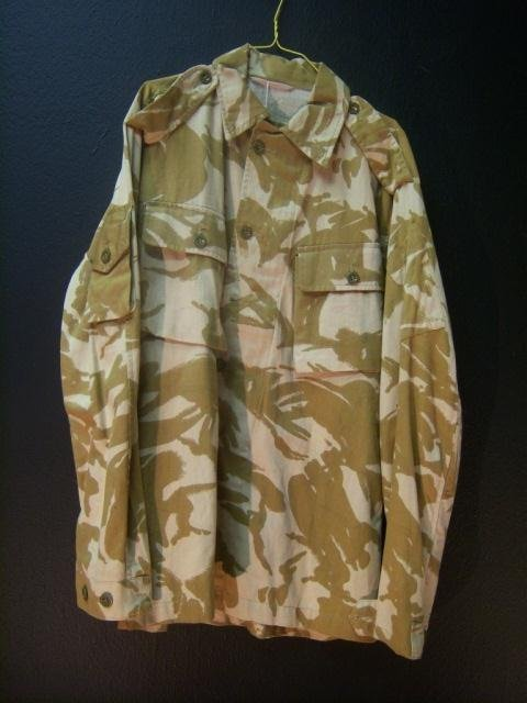 10: Tan Camo Shirt Large