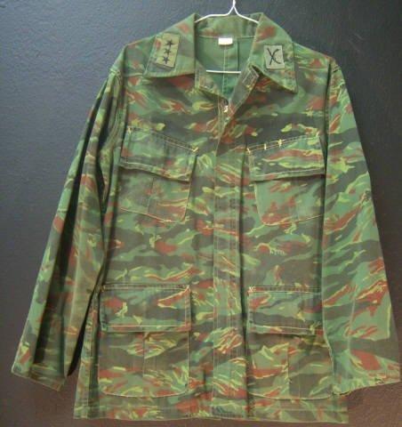 15: Green Camo Jacket Small