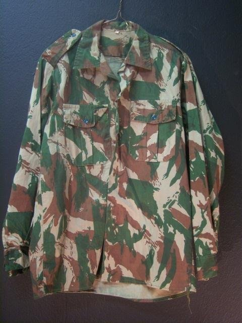 18: French Camo Uniform Small, 2-pc