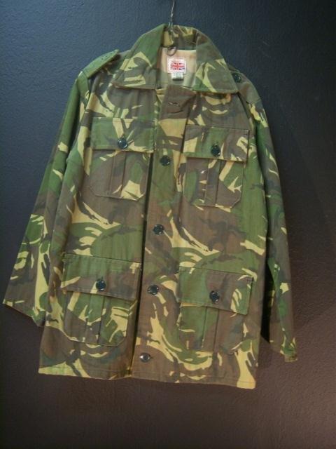 22: British DPM Camo Jacket Medium