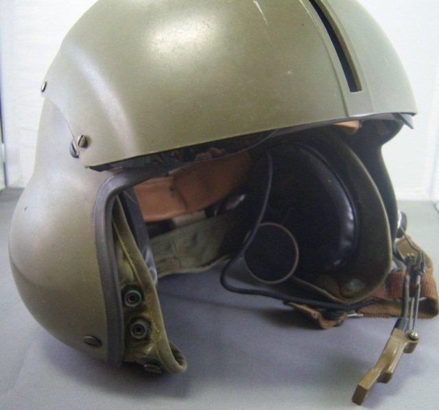 110: GENTEX SPH-4 FLYERS HELMET HELOCOPTER PILOT - 3