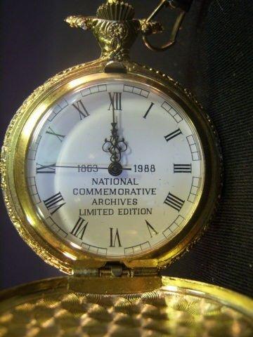 443A: Battle of Gettysburg Commemorative Pocket Watch - 7