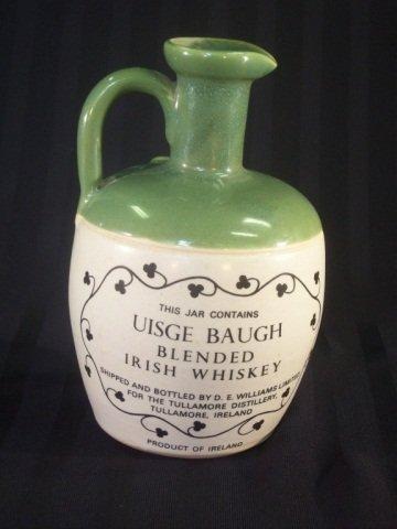 966: Vintage Stoneware Whiskey Jug Tullamore Dew - 2